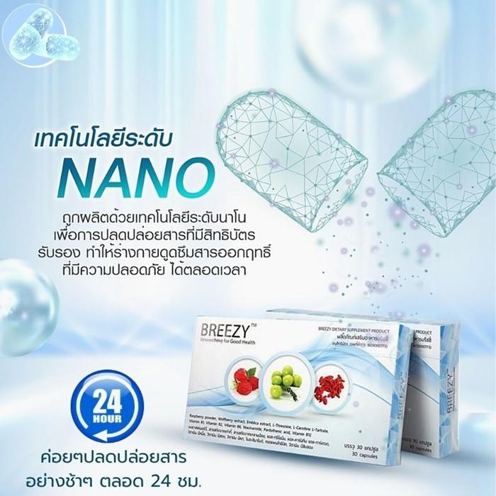 Breezy Nano Technology นวัตกรร สมุนไพร ดูแลเบาหวาน doodeeshop